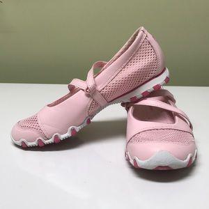 Pink Mary Jane sketchers